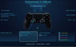 Используйте контроллер PS4 в Steam [Учебник]