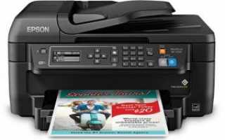 Epson WF-2750 Printer Драйвер скачать и установить
