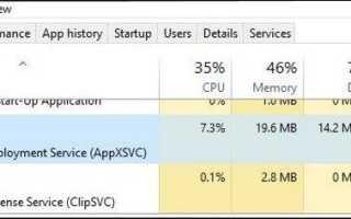 Wsappx в Windows — Что это и безопасно ли?