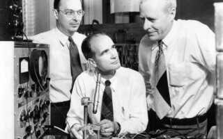 История транзистора