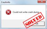 [Исправлено] Wolfenstein 2 не может написать аварийный дамп