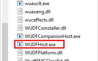 [ИСПРАВЛЕНО] Высокая загрузка ЦП WUDFHost.exe в Windows 10