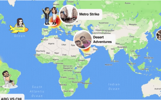 Snapchat автоматически обновляет местоположение на карте моментальных снимков?