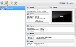 Как настроить и запустить 64-битный гость в Virtualbox