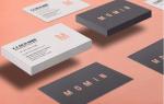 Высококачественные бесплатные визитки и макеты