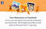 Как найти и просмотреть воспоминания Facebook