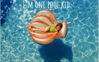 90 подписей к фотографиям в Instagram для ваших приключений в бассейне и бассейне