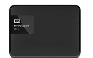 WD My Passport Ultra не обнаружен