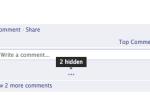 Как отключить комментарии на странице Facebook