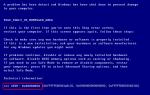 Стоп: 0x00000050 Синий экран смерти Ошибка в Windows 7 [исправлено]