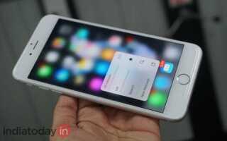 Как использовать 3D Touch на Apple iPhone 6S