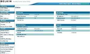 Вход в Belkin Router, IP-адрес и начальная настройка — полная информация