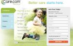 Как изменить местоположение на Care.com