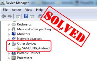 Samsung Android Драйвер для Windows [скачать бесплатно]