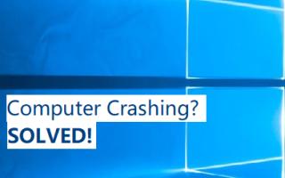 [Исправлено] Компьютер продолжает падать | Быстро и легко