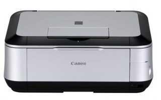 Драйвер принтера Canon Pixma MP620 не найден в Windows 10