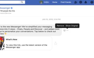Как пересылать сообщения Facebook в другую учетную запись Facebook