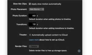 Как очистить дисковое пространство в iMovie