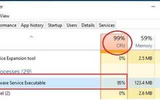 Исправлено: исполняемый файл службы защиты от вредоносных программ, высокая загрузка ЦП в Windows 10