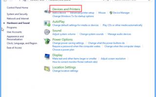 Руководство по установке встроенных драйверов Brother (для систем Windows 8 или новее)