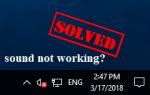 Звук не работает на ноутбуке HP [Лучшие исправления]