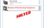 Исправить наушники не отображаются на устройствах воспроизведения на Windows 10