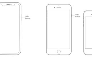 Экран черный на iPhone — что делать