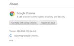 Какая версия Chrome у меня есть?