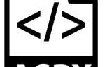 ASPX: что это и как я могу открыть и отредактировать?