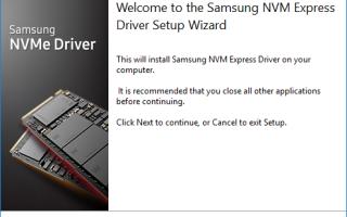 Samsung NVMe Драйвер скачать легко и быстро