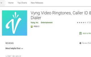 Как добавить видео рингтоны на Android