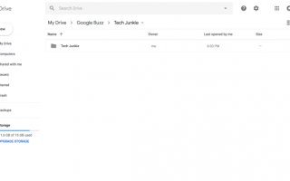 Как просмотреть размер папки для папок на Google Диске