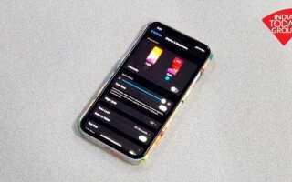 Технические советы: Как включить темный режим на вашем iPhone