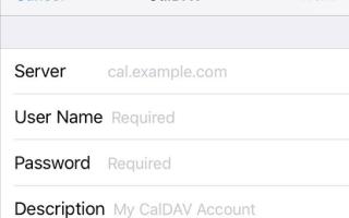 Как настроить календарь Google и контакты на iPhone