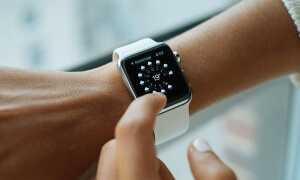 Что такое значок капли дождя на Apple Watch?
