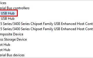 Общие проблемы с драйвером USB-концентратора в Windows [Исправлено]