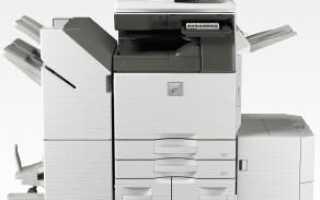 Как обновить драйверы принтера Sharp на ПК с Windows
