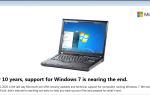 Windows 7 End of Life / Поддержка: все, что вам нужно знать