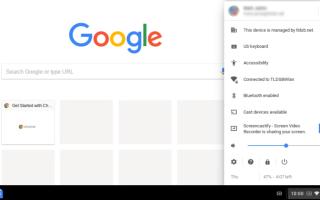 Как отключить клавиатуру на Chromebook