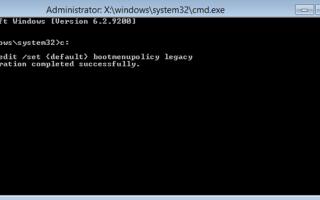 Как войти в безопасный режим и удалить драйвер видеокарты в Windows 8?