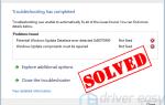 В Windows 10 обнаружена потенциальная ошибка базы данных Центра обновления Windows