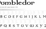 Где найти шрифт Гарри Поттера