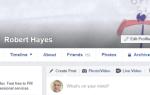 Как сделать временную фотографию профиля Facebook
