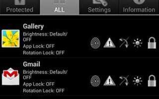 [Приложение] Perfect App Protector PRO: сделайте свой Android более безопасным, чем когда-либо