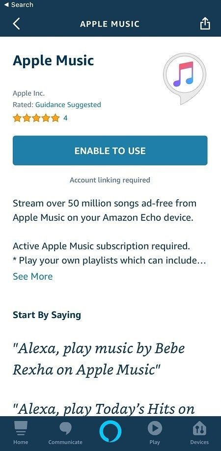 Apple Music и Amazon Echo