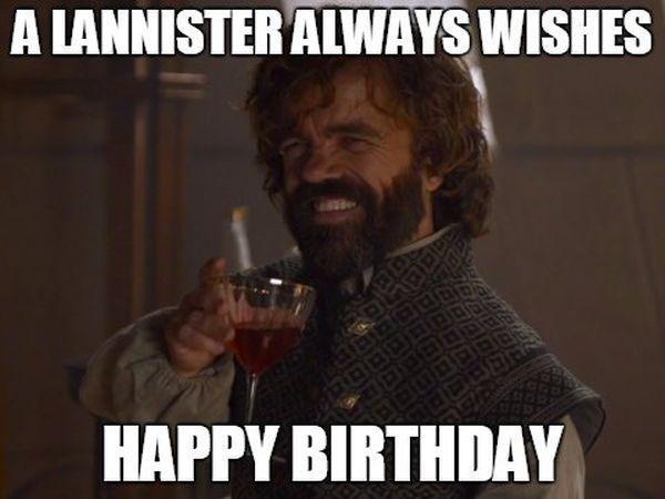Смешные картинки с днем рождения игра престолов
