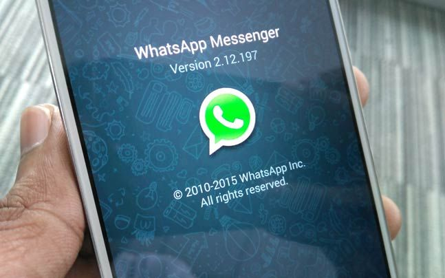 Обновите свой WhatsApp сейчас! Вы're missing out on some great features